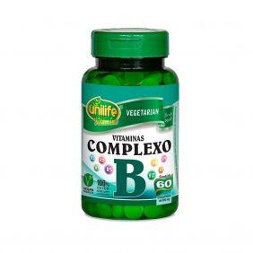 Complexo B 500mg 60 cápsulas Unilife