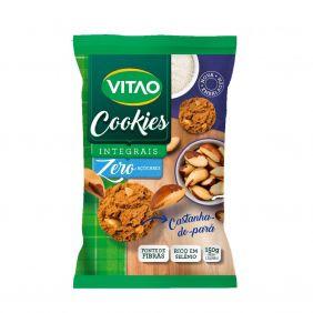 Cookies Integral Zero Açucar sabor Castanha do Pará 150gr Vitao
