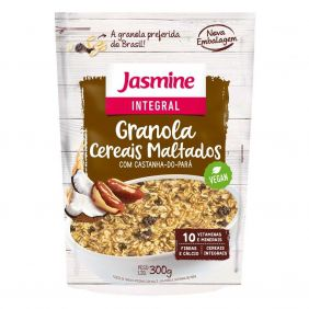 Granola Cereais Maltados Jasmine 300gr