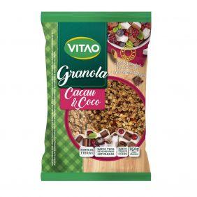Granola com Cacau e Coco 250gr Vitao