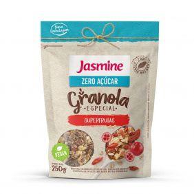 Granola Frutas Vermelhas Zero Açúcar Jasmine 250gr