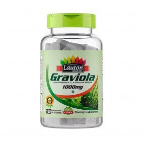 Graviola 1000mg 180 comprimidos Lauton