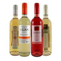 Kit Leveza com 3 Vinhos Brancos e 1 Rosé
