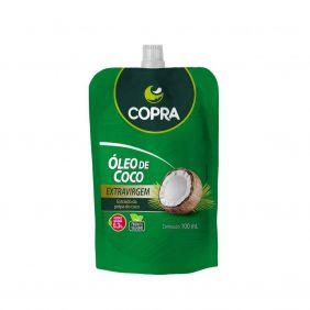 Óleo de Coco Extra Virgem 100ml Stand Pouch (Sachê) Copra