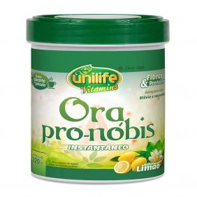 Ora Pro-Nóbis Solúvel Sabor Limão 220g Unilife