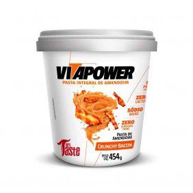 Pasta de Amendoim Crunchy Bacon 454gr Vitapower