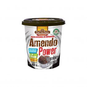 Pasta de Amendoim Integral com Brigadeiro Zero Açúcar Amendo Power 450gr