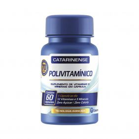 Polivitamínico Imunidade 60 cápsulas Catarinense