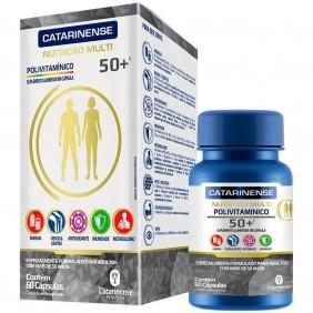 Polivitaminico Multi 50+ 60 cápsulas - Catarinense