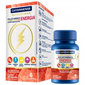 Polivitaminico Multi Energia 60 cápsulas Catarinense