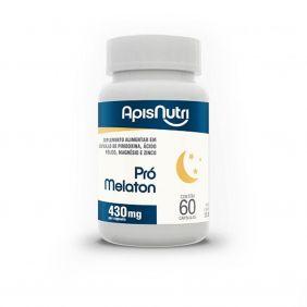 Pró Melaton 430mg 60 cápsulas Apisnutri