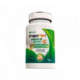 PropoFort Própolis Verde + Vitamina C 50mg 60 cápsulas Katiguá