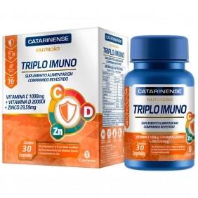 Triplo Imuno 30 comprimidos - Catarinense