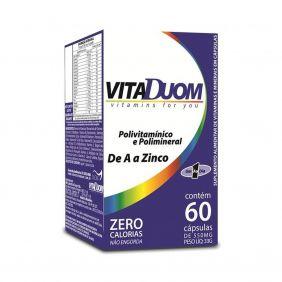 VitaDuom Polivitamínico e Polimineral 60 cápsulas Duom