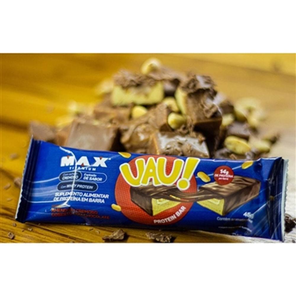 Barra Uau Protein  Max Amendoim 45gr