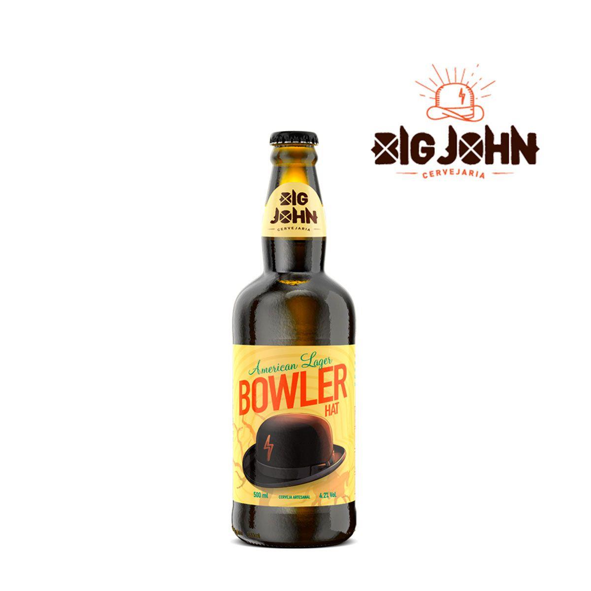 Cerveja Artesanal Big John Bowler Hat American Lager 500ml