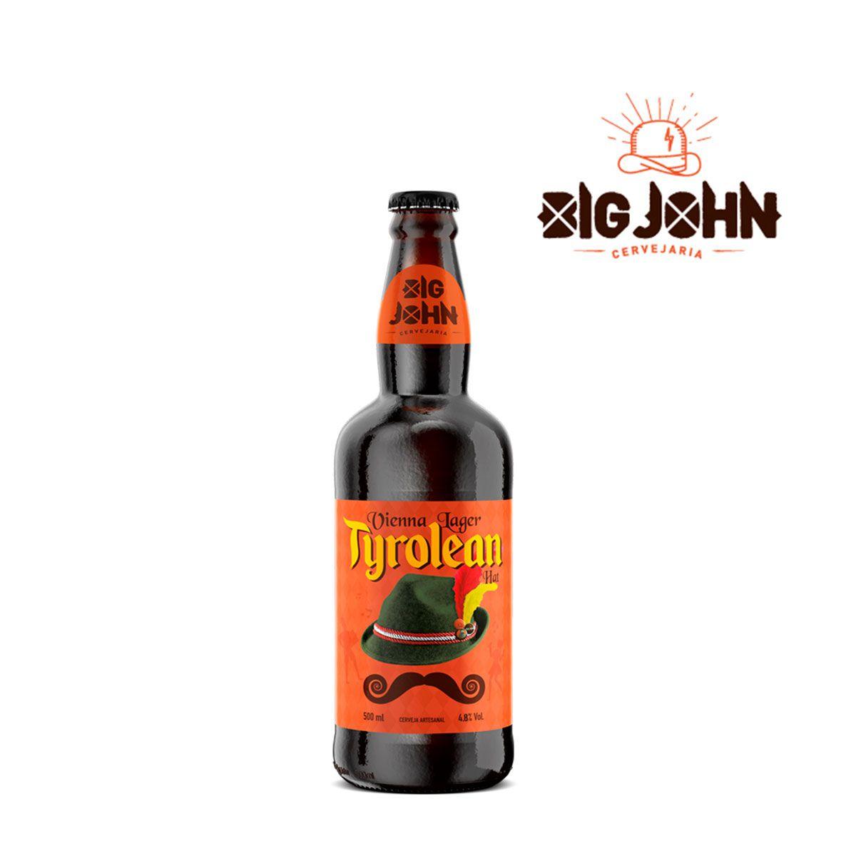 Cerveja Artesanal Big John Tyrolean Hat Vienna Lager 500ml