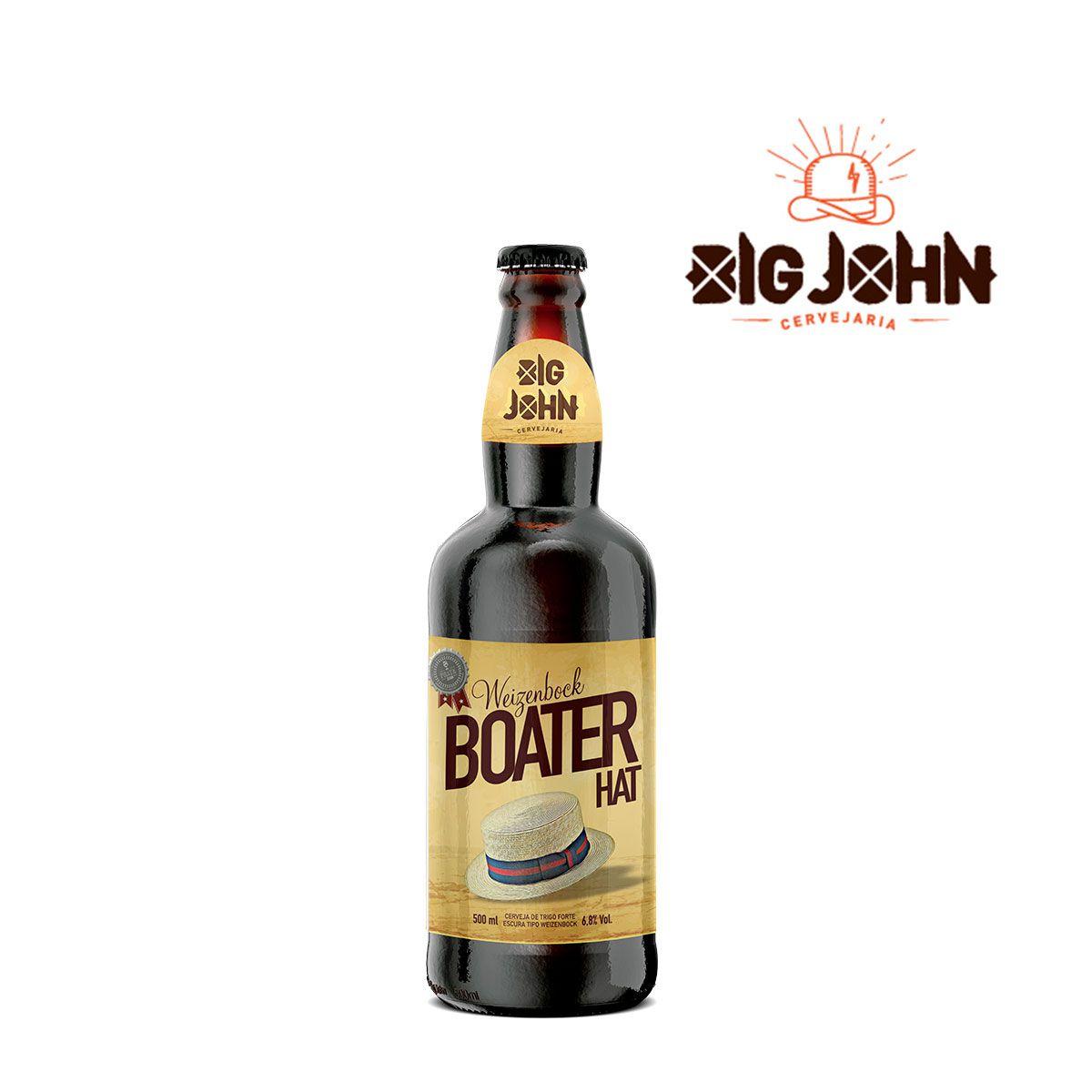 Cerveja Artesanal Big John Weizenbock Boater Hat 500ml