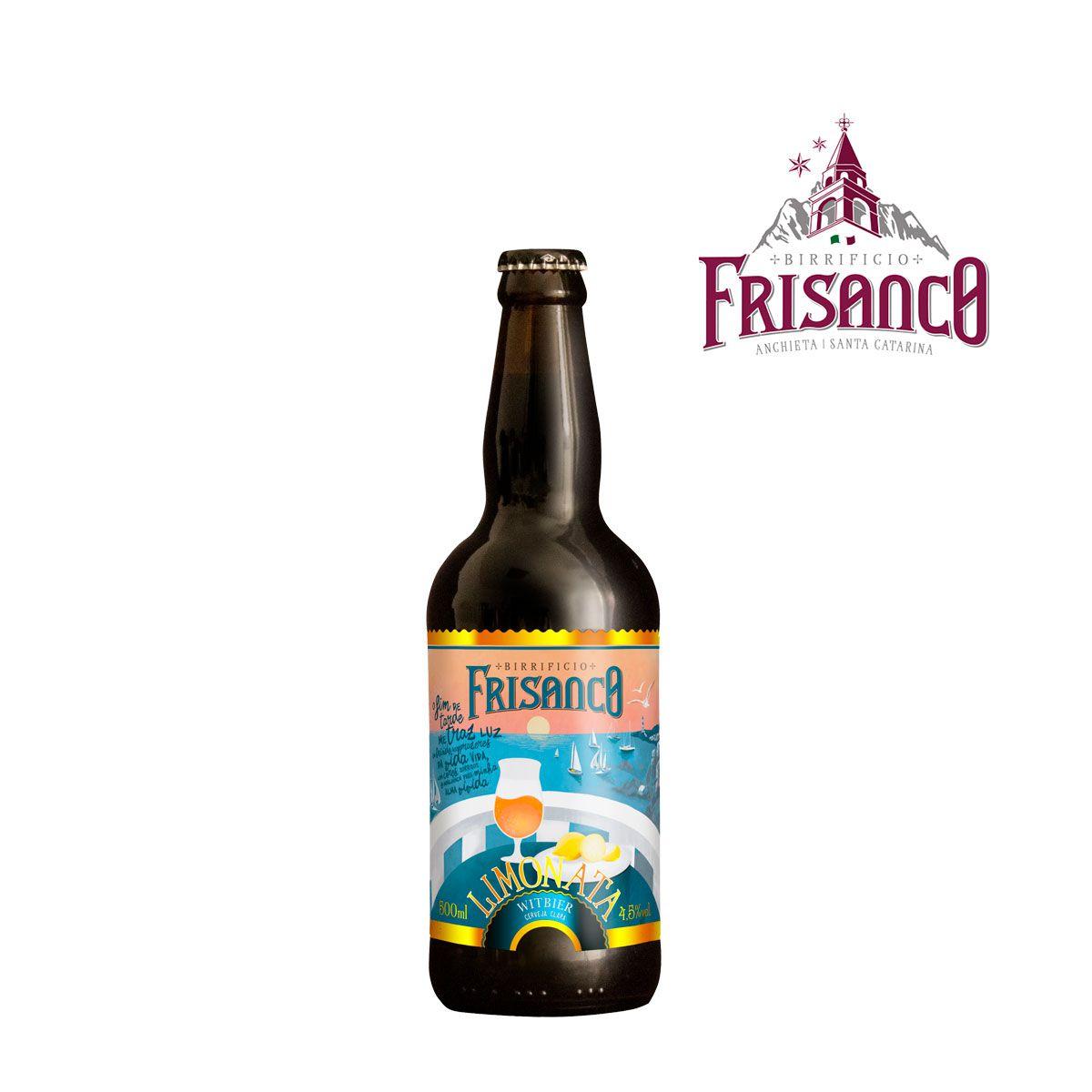 Cerveja Frisanco Limonata Witbier 500ml