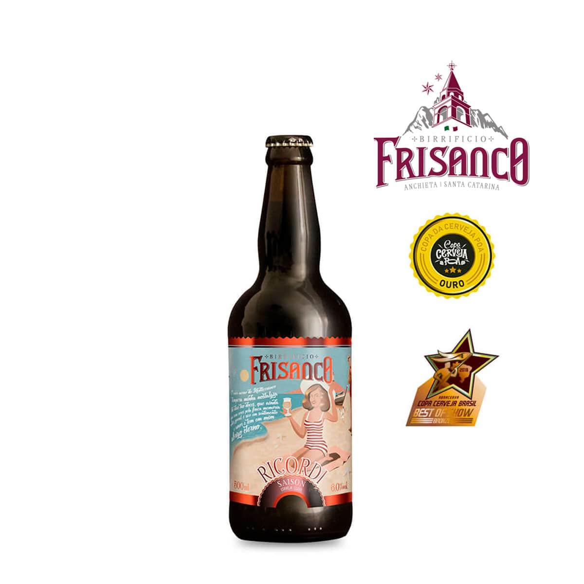 Cerveja Frisanco Ricordi Saison 500ml
