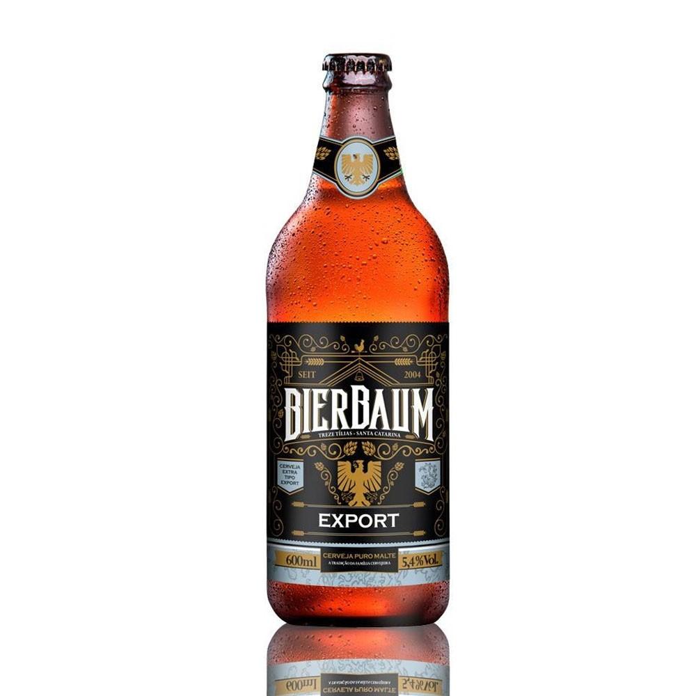Cerveja Bierbaum Export 600ml