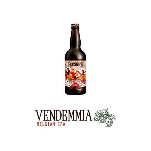 Cerveja Frisanco Vendemia Belgian IPA 500ml