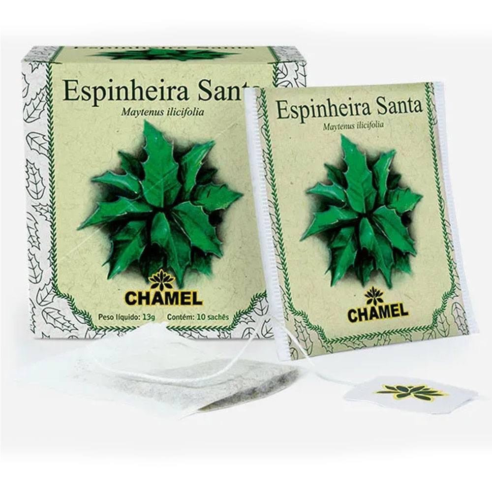 Chá de Espinheira Santa 10 saches Chamel