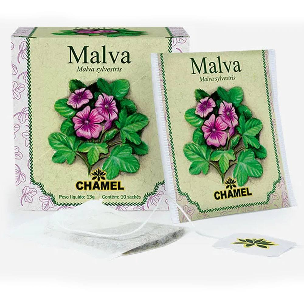 Chá de Malva 10 Saches Chamel
