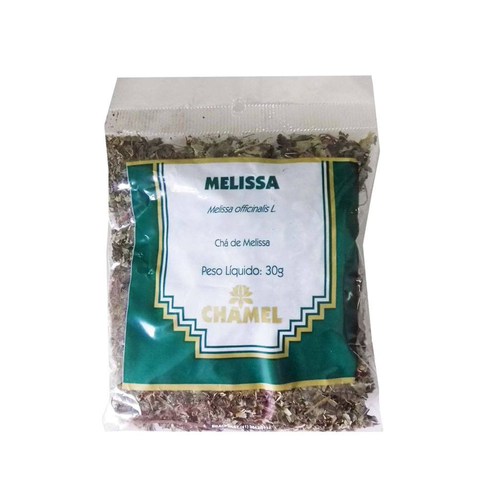 Chá de Melissa em Folhas 30gr Chamel