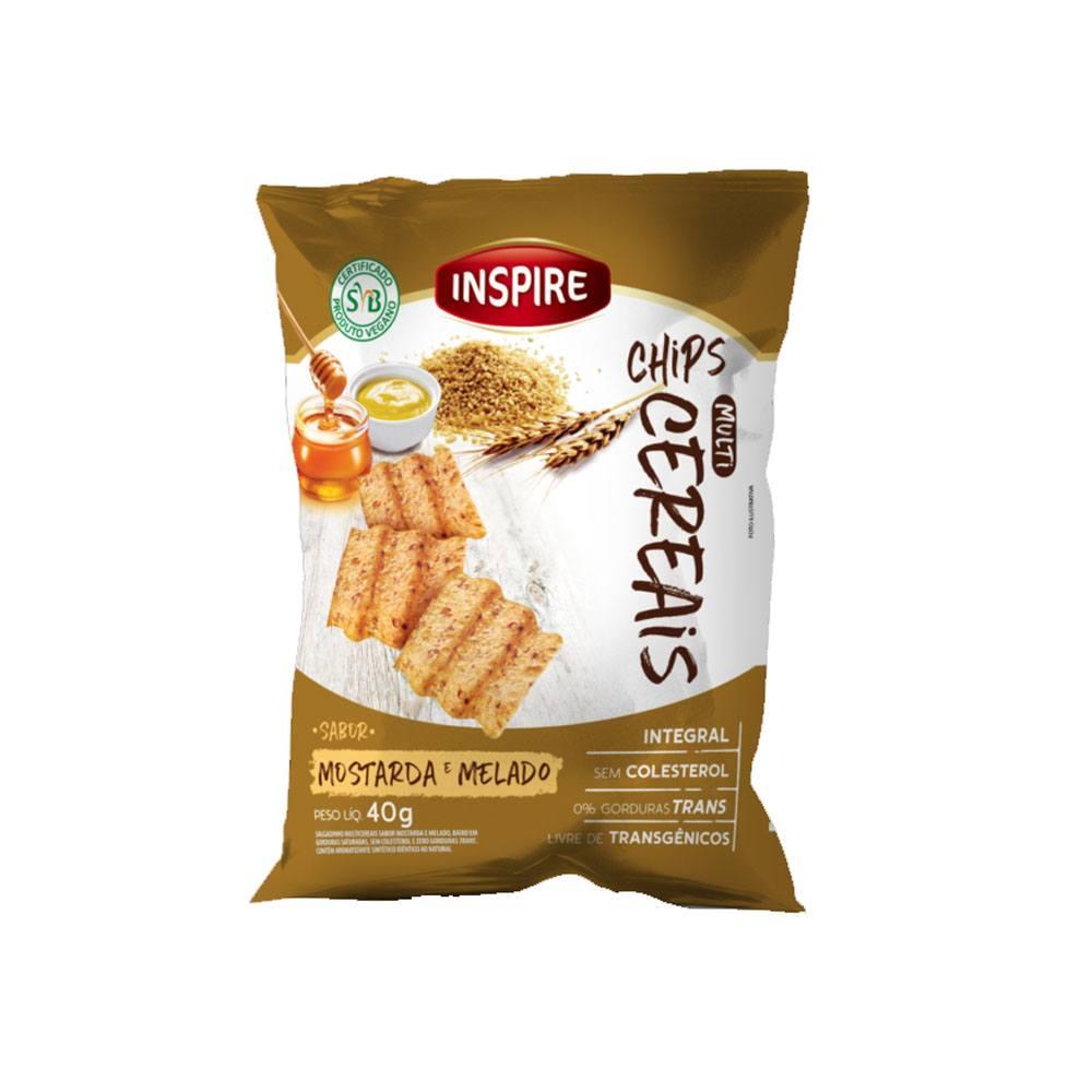 Chips Multicereais sabor Mostarda e Melado 40gr Inspire