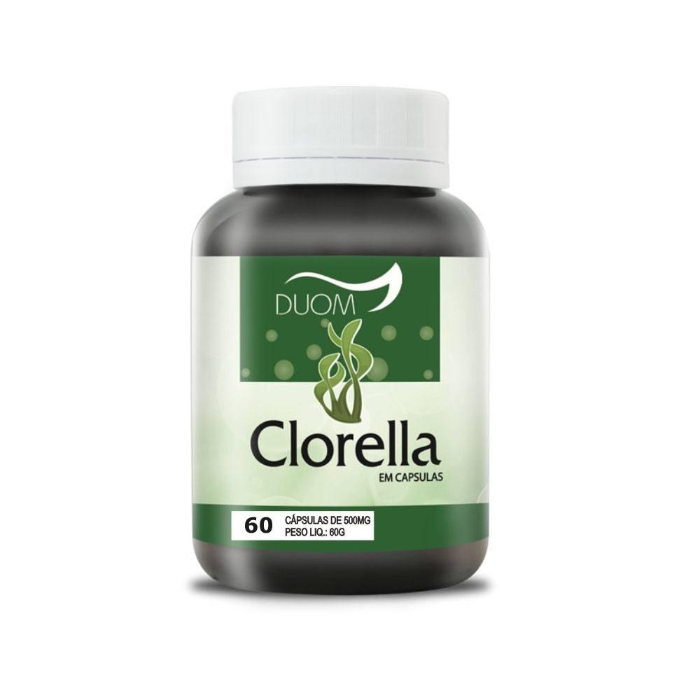 Clorella 500mg 60 cápsulas Duom