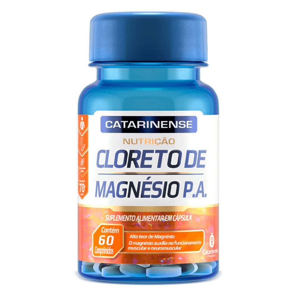 Cloreto de Magnésio 60 comprimidos Catarinense
