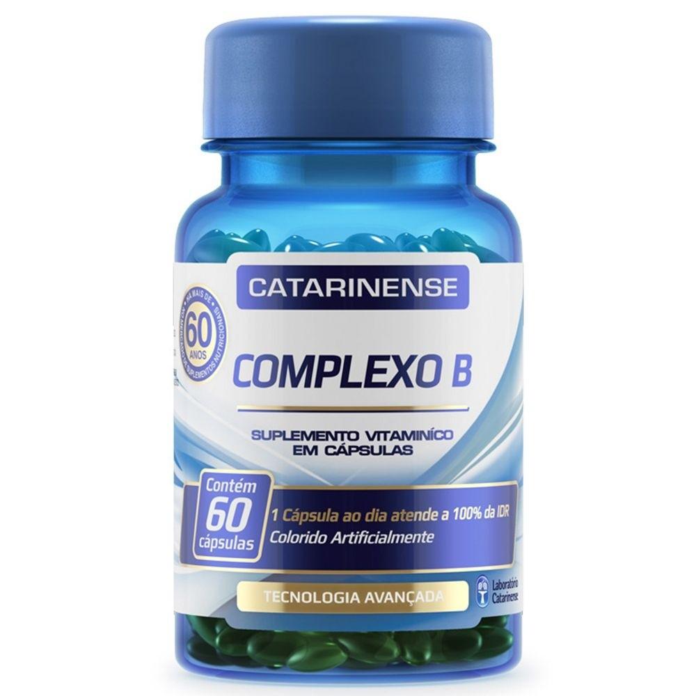 Complexo B 60 cápsulas - Catarinense