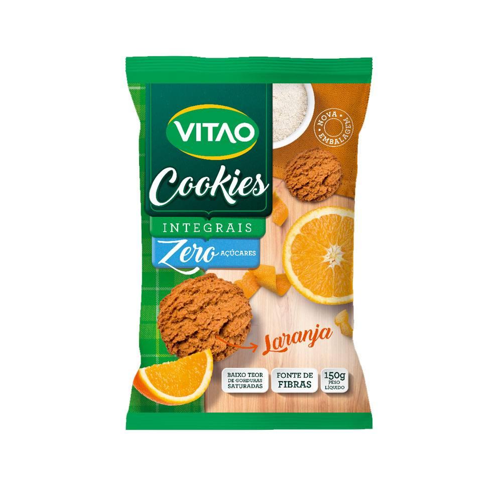 Cookies Integral Zero Açucar sabor Laranja 150gr Vitao