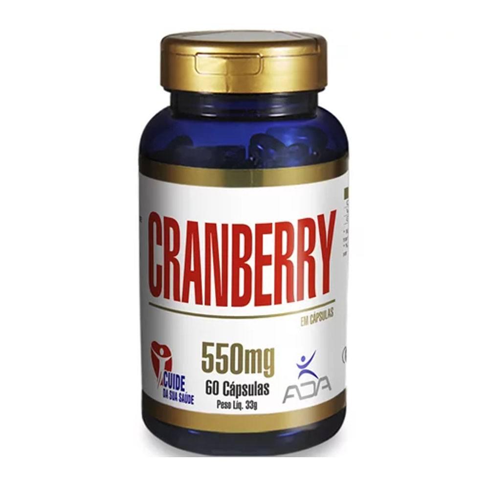 Cranberry 60 cápsulas 550mg Ada
