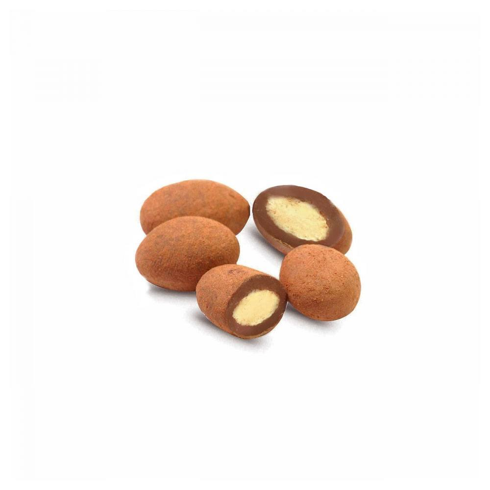 Dragea Tiramissu com Amendoas Chocolate 70% Cacau