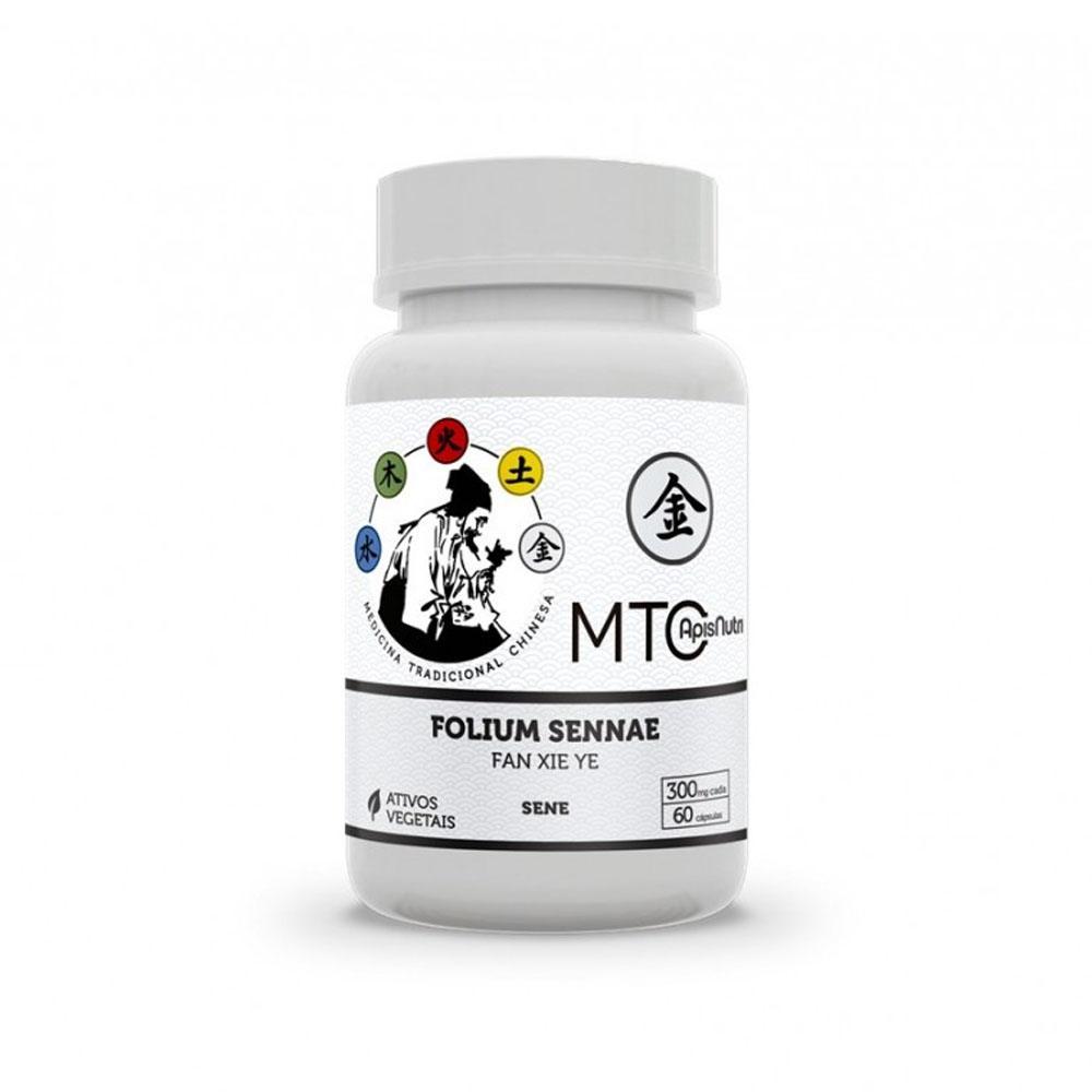 Fan Xi Ye-Folium Sennae 500mg 60 cápsulas (Sene) Apisnutri MTC