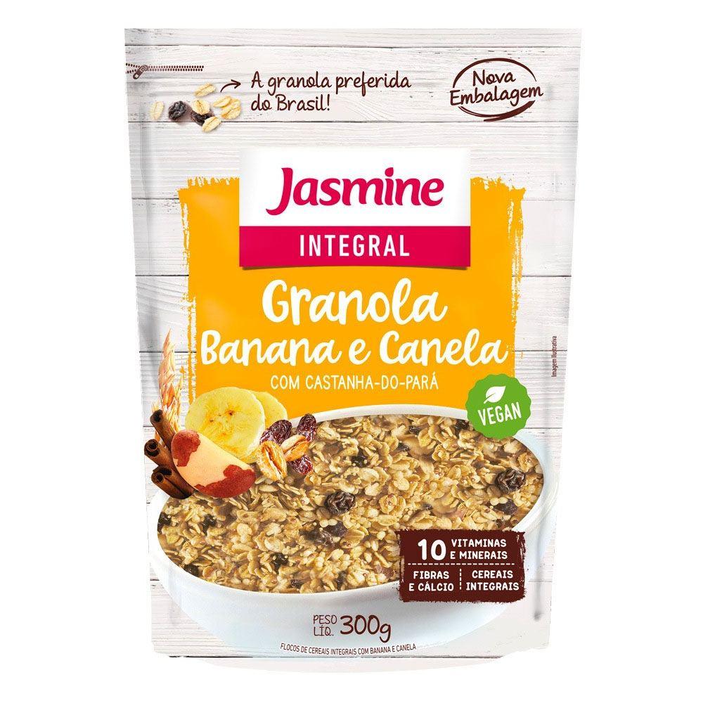 Granola Banana e Canela Jasmine 300gr