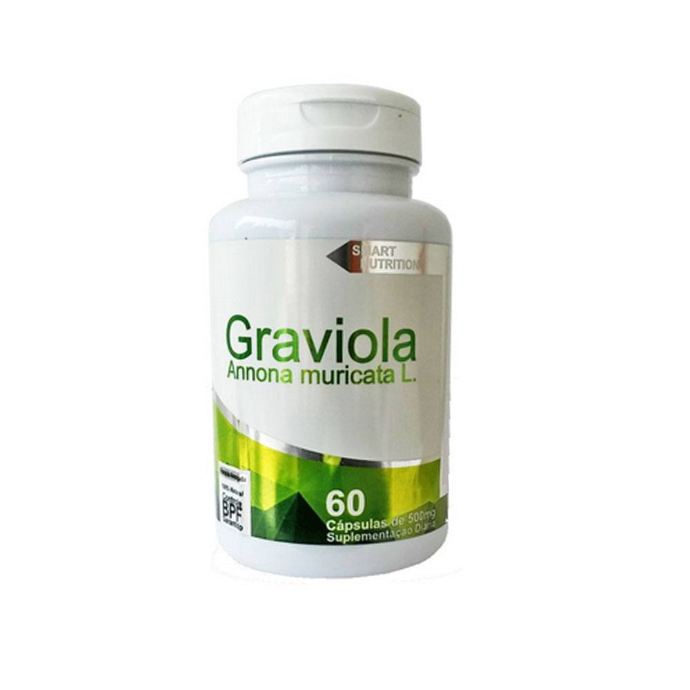 Graviola 500mg 60 cápsulas 4 Elementos
