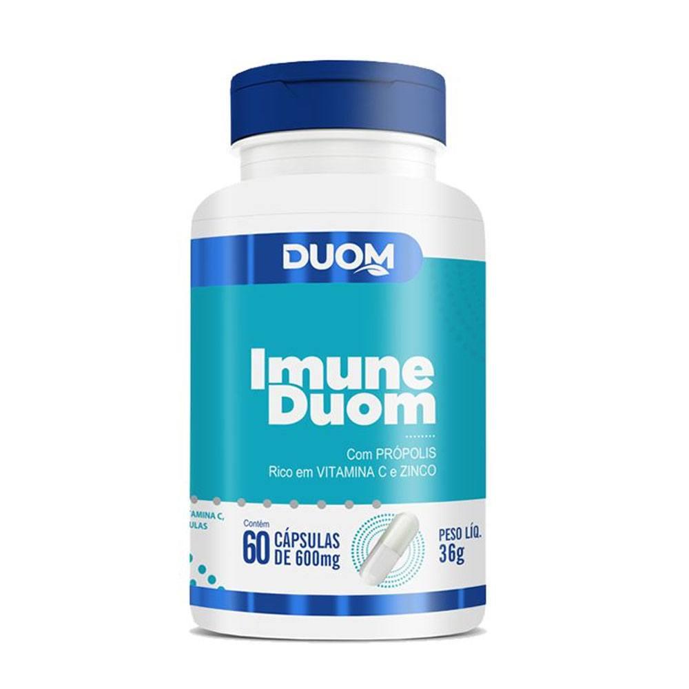 Imune Duom 600mg 60 cápsulas Duom