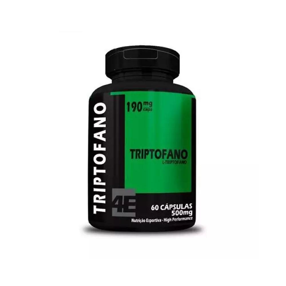L-Triptofano 500mg 60 cápsulas 4 Elementos