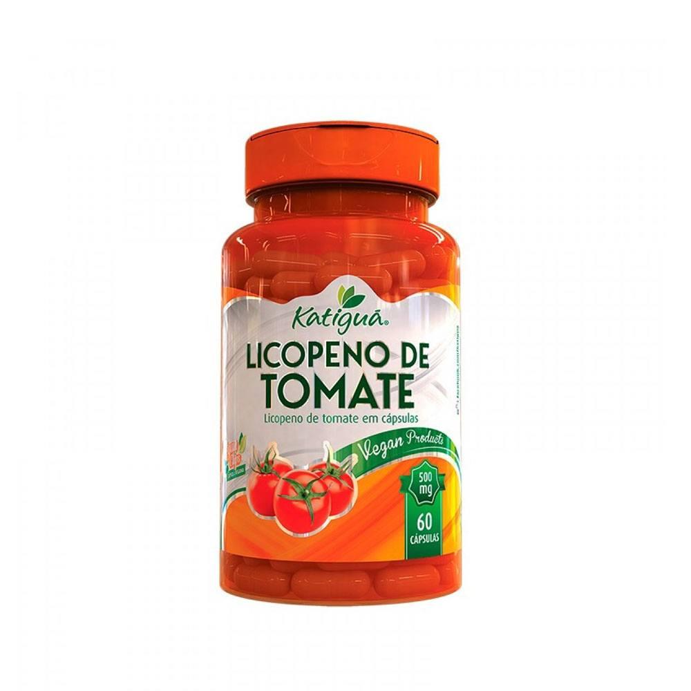 Licopeno de Tomate 500mg 60 cápsulas Katiguá