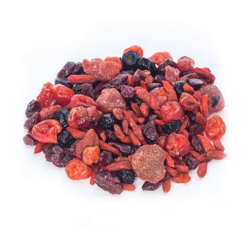 Mix de Frutas Vermelhas Desidratadas