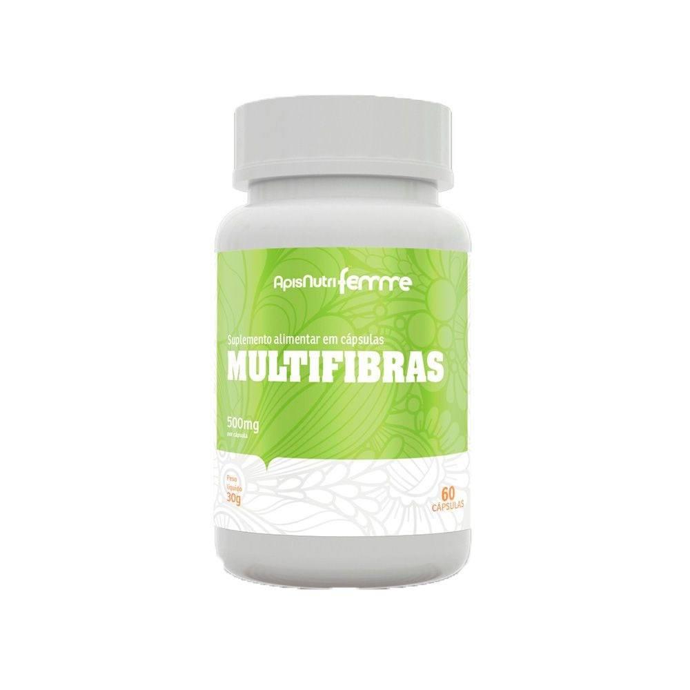 Multifibras SB 500mg 60 cápsulas Apisnutri