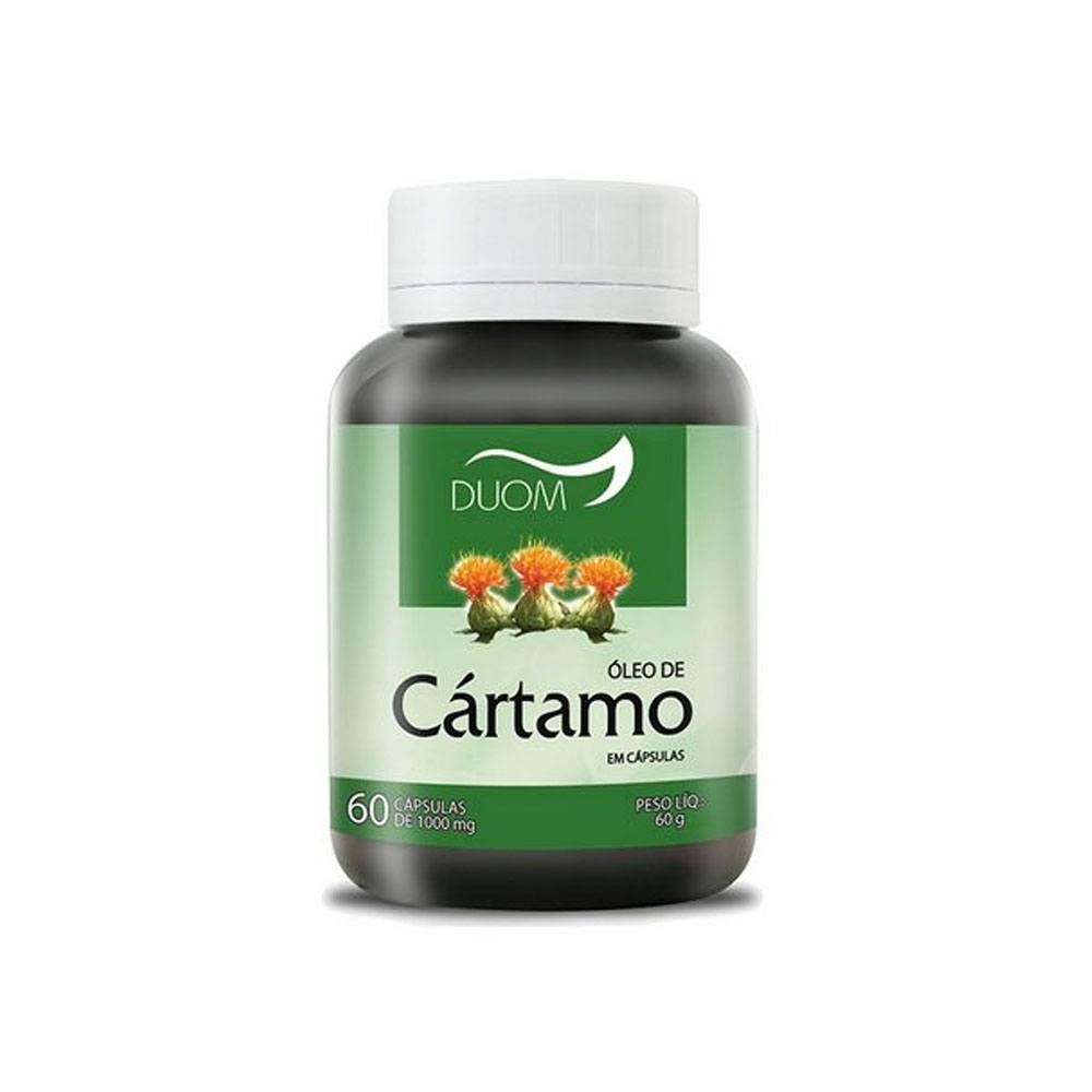 Óleo de Cartamo com Vitamina E 1000mg 60 cápsulas Duom