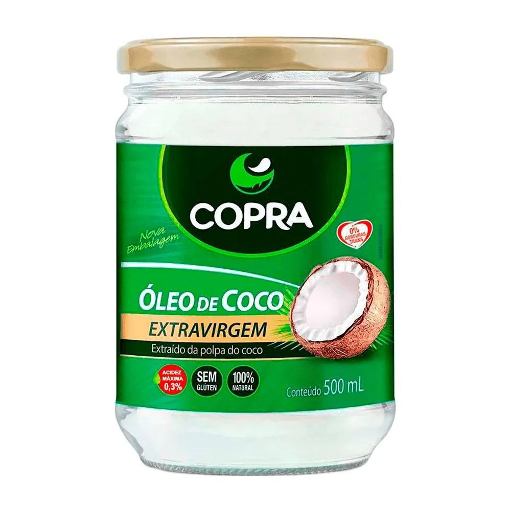 Óleo de Coco Copra Extra-Virgem 500ml