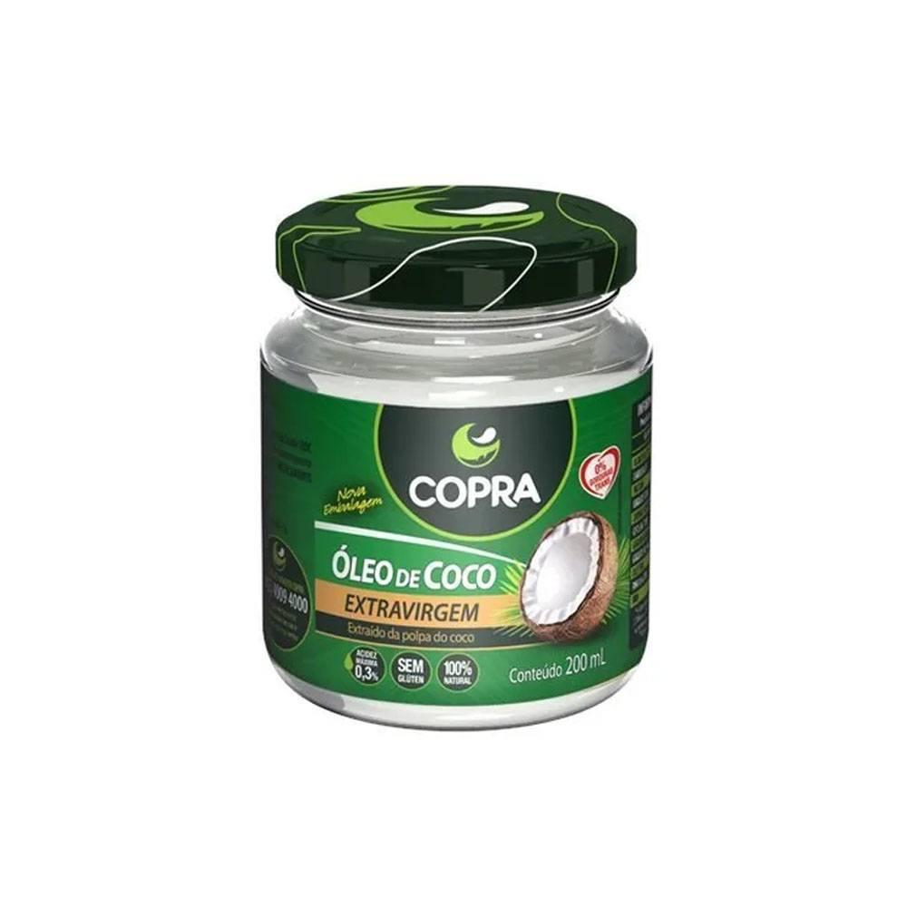 Óleo de Coco Extra-Virgem 200ml Copra