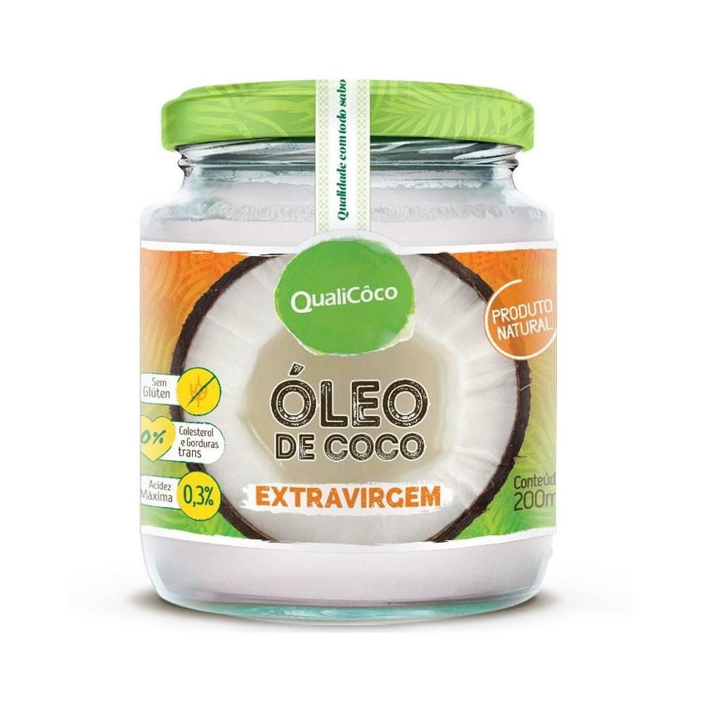 Óleo de Coco Extra Virgem 200ml QualiCoco