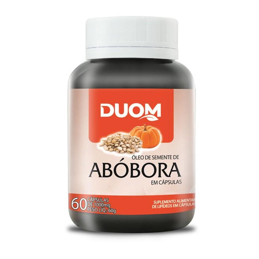 Óleo de Semente de Abóbora 1000mg 60 cápsulas Duom