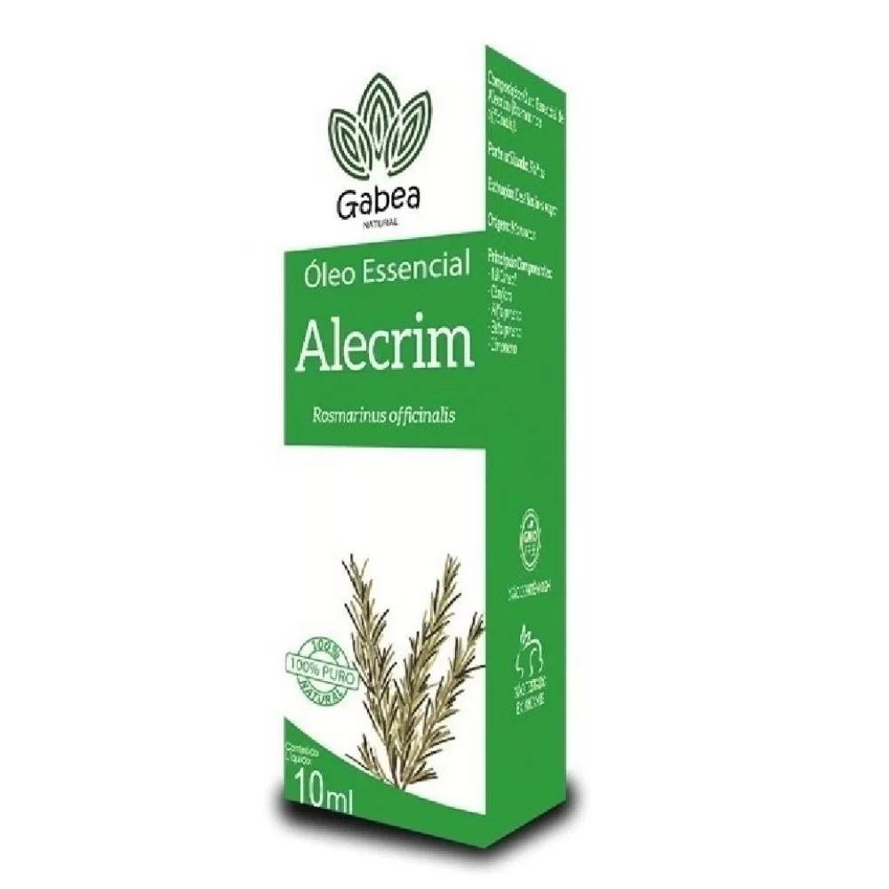 Óleo Essencial de Alecrim 10ml Gabea - Duom